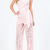 Light Pink Lace Crochet Halter Backless Sheer Sexy Jumpsuit