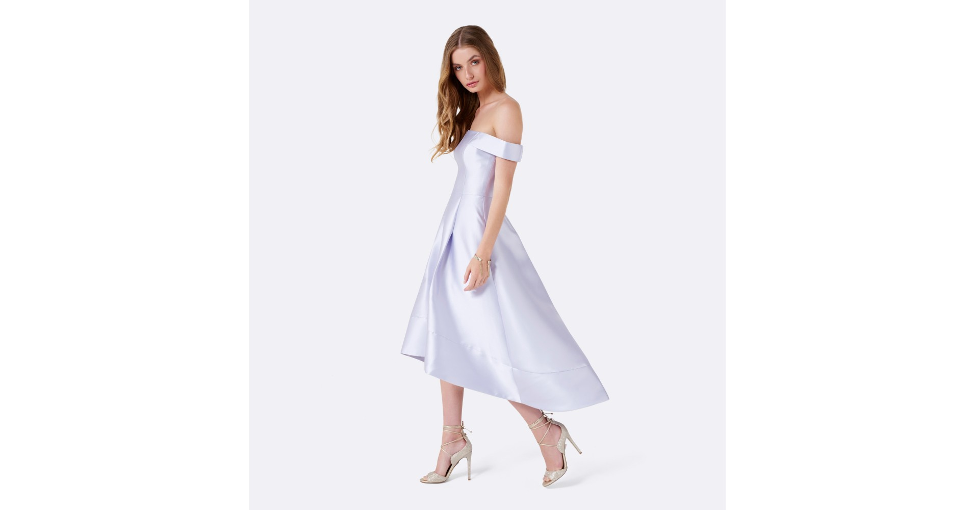 Dress Riverdale Betty Cooper Prom Off The Shoulder White Silk