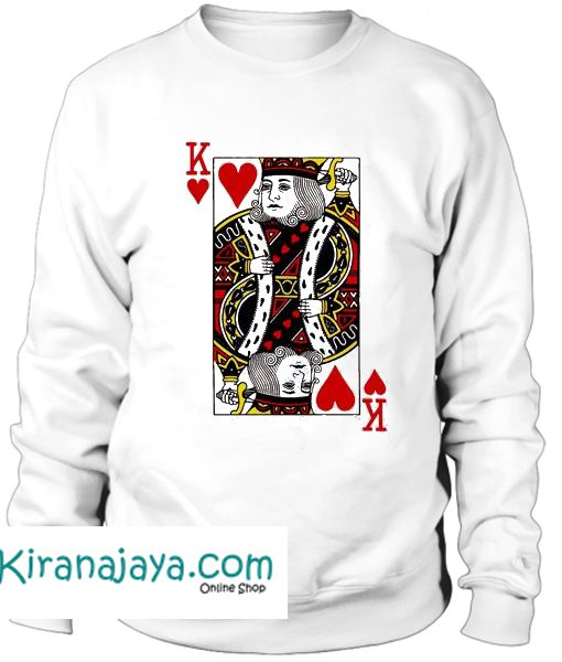 King Hearts Sweatshirt Kirana Jaya