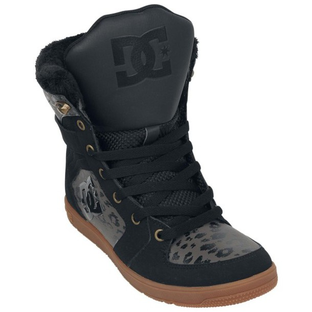 shoes dc dc shoes stratton dc stratton dc sneakers high top sneakers leopard print