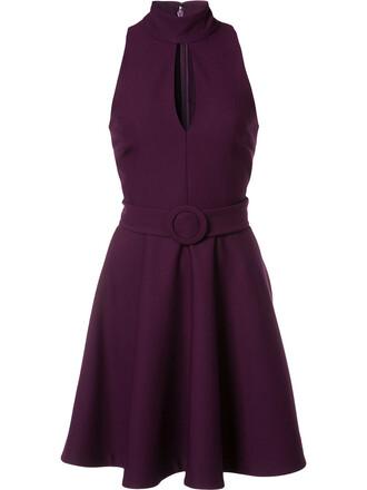 dress women spandex purple pink
