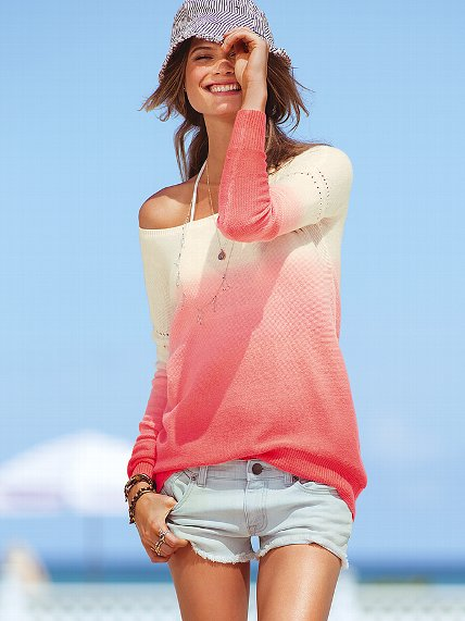 Dip-dye Sweater - Victoria's Secret ($69.00) - Svpply