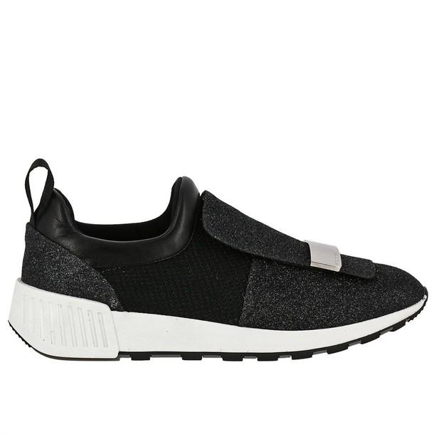 Sergio Rossi sneakers. women sneakers shoes black