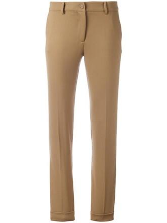 women spandex nude wool pants