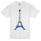 Eiffel tower t-shirt - basic tees shop