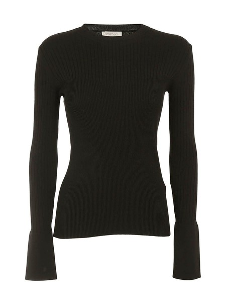 Sportmax pullover knit black sweater