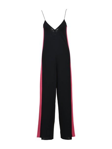 jumpsuit black pink