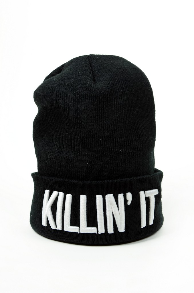 Killin It Beanie - Beauty Forever - Brands - Paper Alligator
