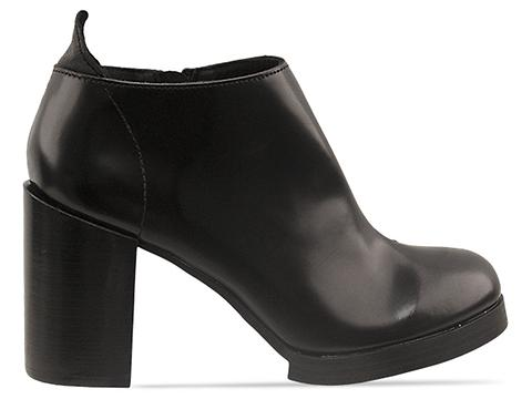 Cheap Monday Layer Heel in Black Smooth at Solestruck.com