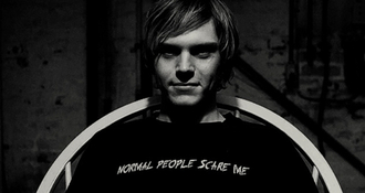 t-shirt american horror story tate normal people scare me grunge
