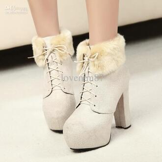 boots high heels winter boots shoes winter