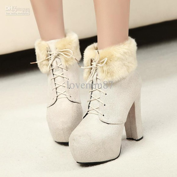 high heels boots shoes winter winter boots