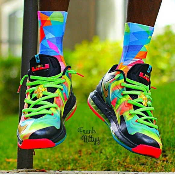 bright shoes nike sneakers basketball basketball shoes lebrons