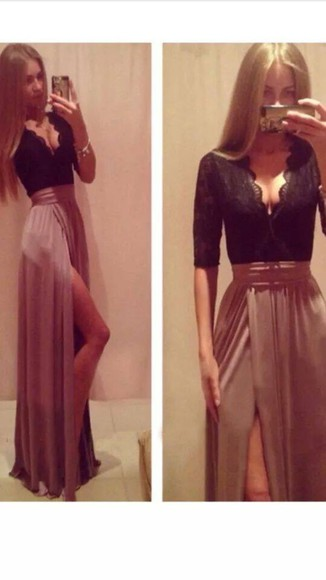 maxi dress long dress lace dress