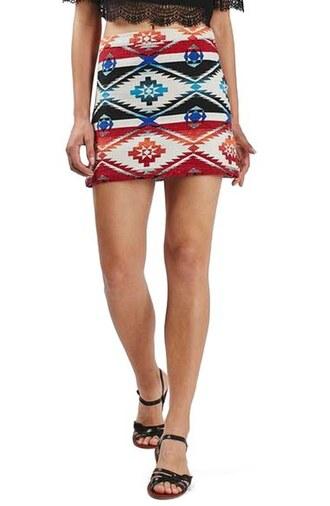 skirt topshop mini skirt clothes a line skirt