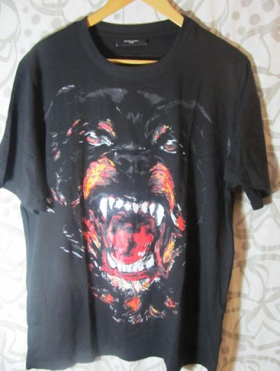 Givenchy Rottweiler T Shirt XL | eBay