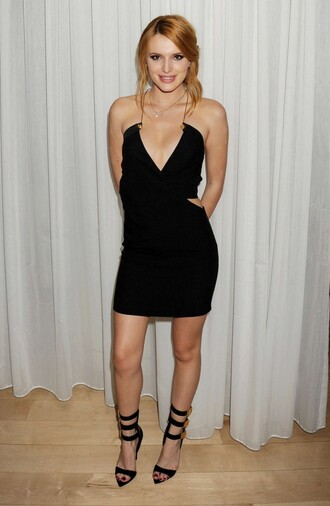 dress little black dress bella thorne cocktail dress sandals prom dress