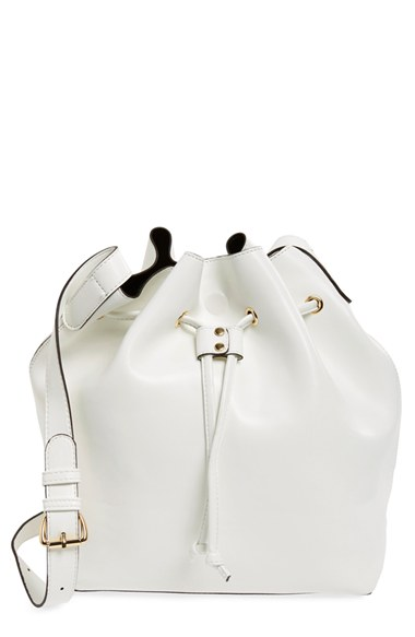 Sole Society 'Nevin' Faux Leather Drawstring Bucket Bag | Nordstrom