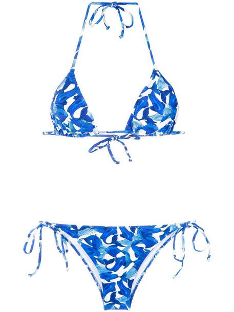 isolda bikini women blue swimwear