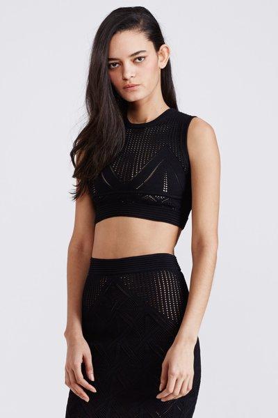 Kim haller maya sleeveless cropped top