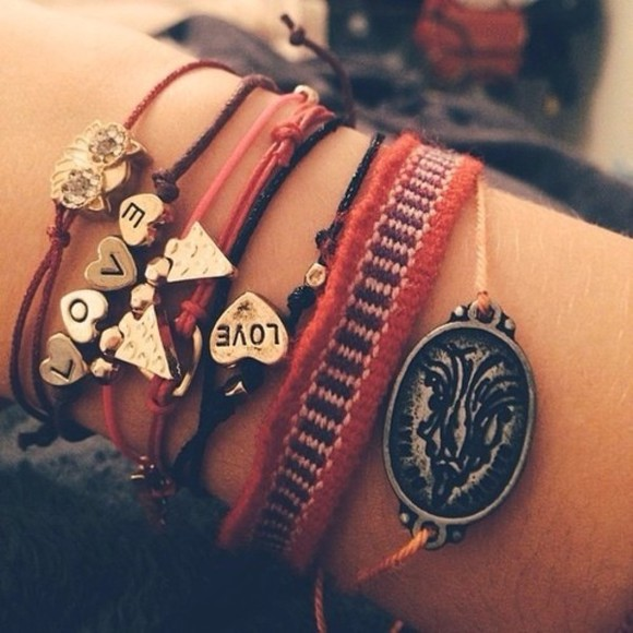 bracelet cute jewels triangle hands pretty jewlery