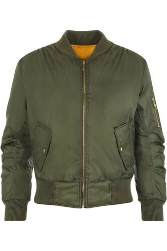 jacket bomber jacket green orange khaki khaki bomber jacket wearall.com
