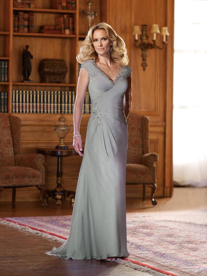 ccf3f8dfd0 210971 Two tone Chiffon A-Line Gown Bella Sposa Bridal