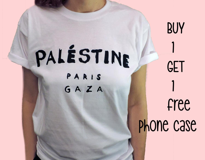 Camicia di Palestina, 100% cotone t-shirt, UNISEX