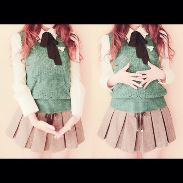 skirt blouse jacket