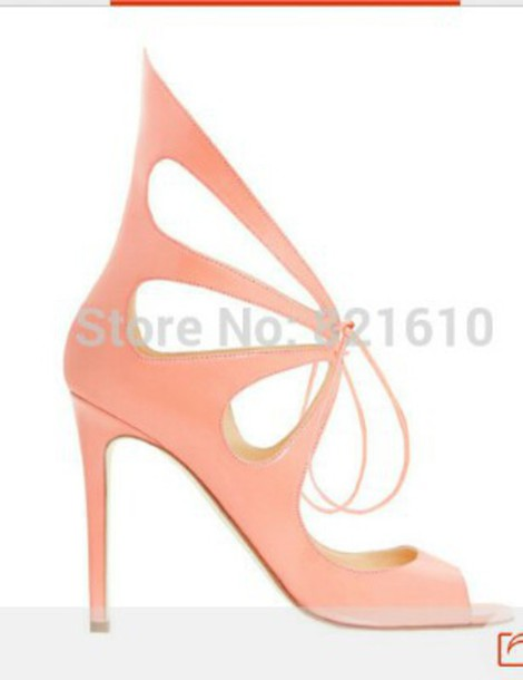 shoes pink sandals