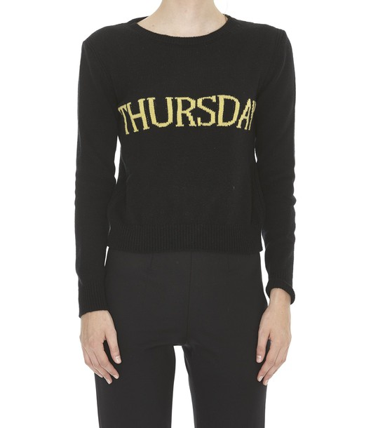 Alberta Ferretti sweater black
