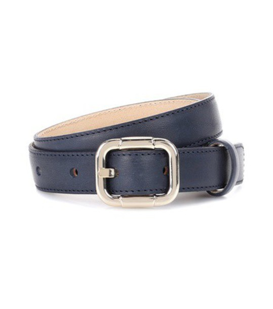A.P.C. belt leather black