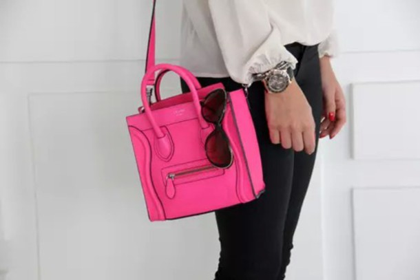 bag cute celine pink