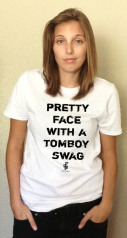 Graphic Tees : Pretty Face