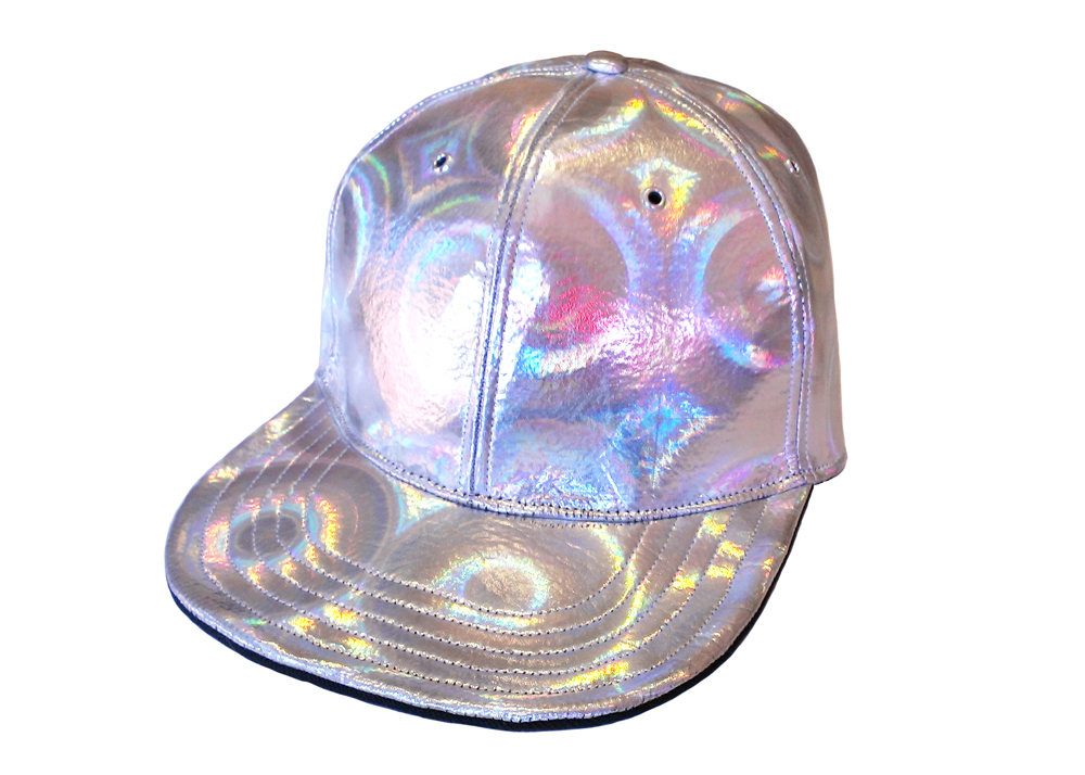 HOLOGRAPHIC baseball cap from Lunar Descent on Storenvy