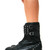 Black Boots - Black Silver Studded Boots with | UsTrendy