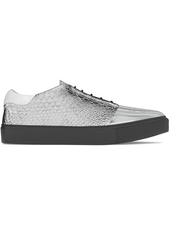 women python sneakers leather grey shoes