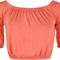 Janette crop short sleeve gypsy top