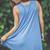Knitted Shift Dress in Blue | Entourage Clothing & Gifts