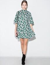 floral dress,daisy,bell sleeves,mini dress,summer outfits,coachella