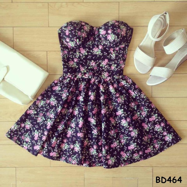 dress bustier dress floral floral dress short party dresses short prom dress short dress sexy dress