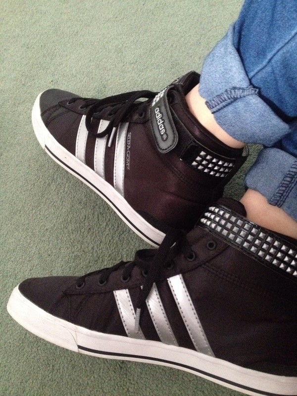 shoes adidas adidas shoes selena gomez straps studs trainers