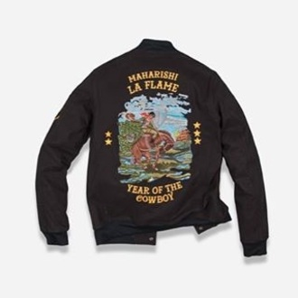 jacket trendy travis scott laflame urban vintage