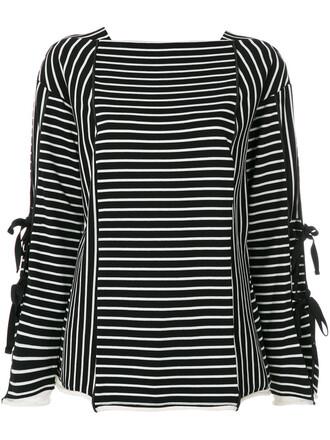 t-shirt shirt women cotton black wool top