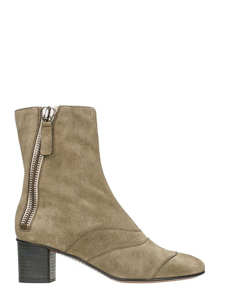 Chloe ankle boots grey shoes