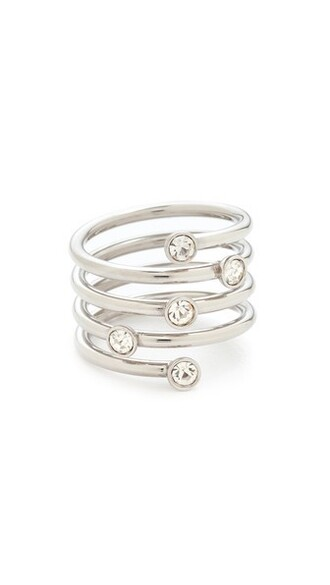 clear ring silver jewels