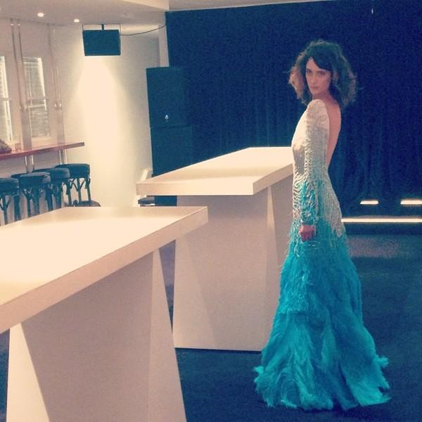 dress prom dress long dress sequin dress feathers