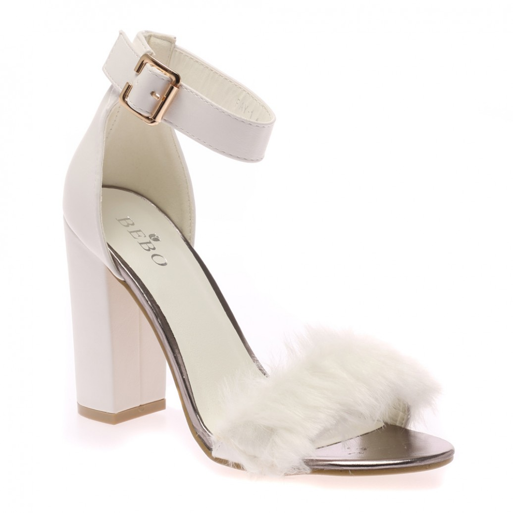 Next White Shoes Small Heels