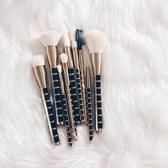 make-up swag gold makeup brushes summer beauty