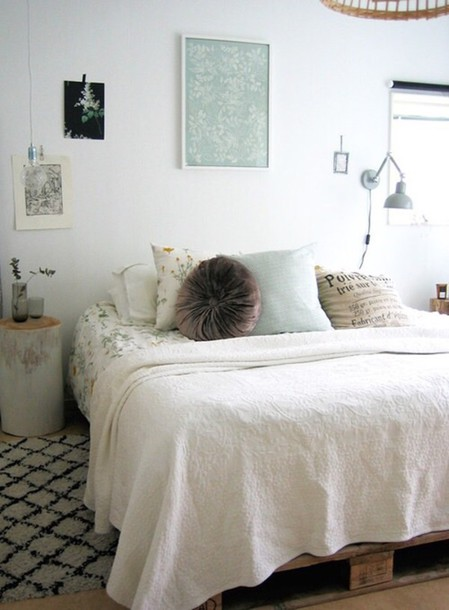 Home accessory pillow bedroom bedding bedding tumblr bedroom room bed cozy room - Tumblr teenage bedroom ...